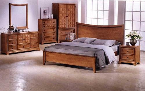 WOODEN BED sb-27