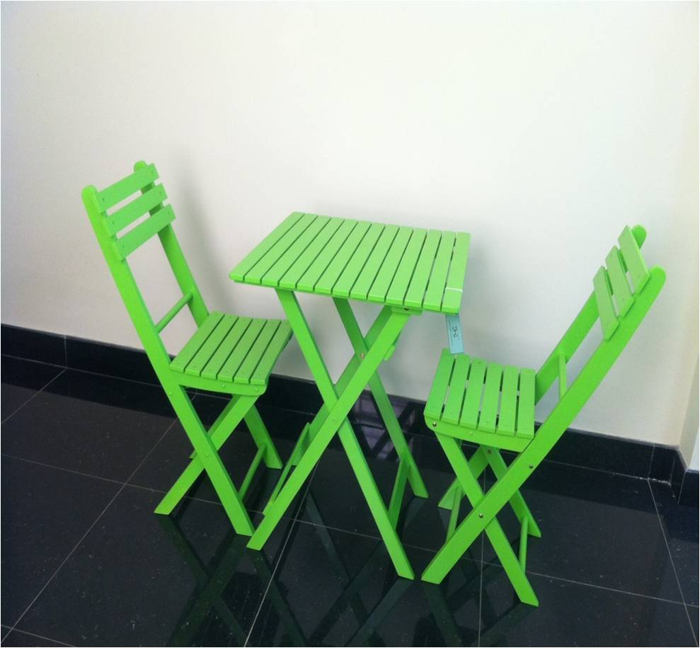 picnic set green color