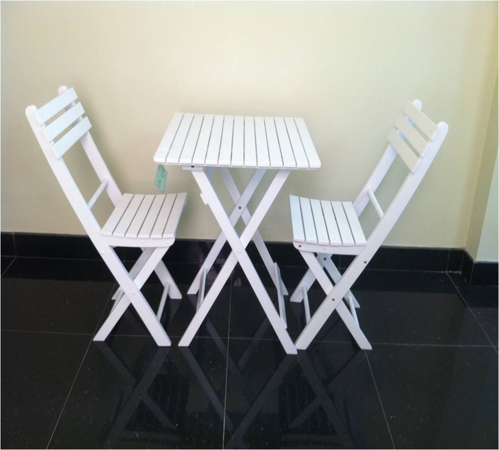 picnic set white