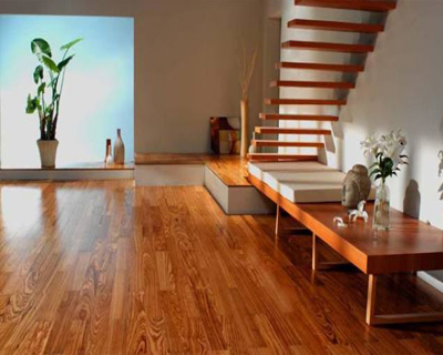 wooden indoor flooring