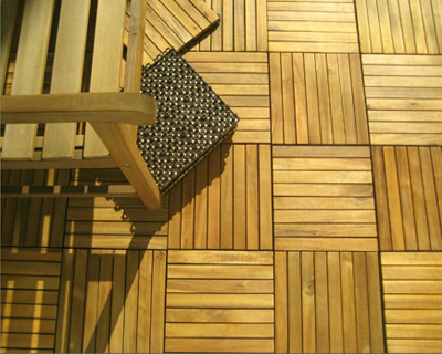 wooden decking for outdoor