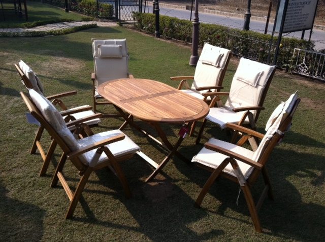 six seater  chair set