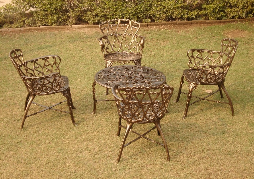 Singapore Chair Set antiqu