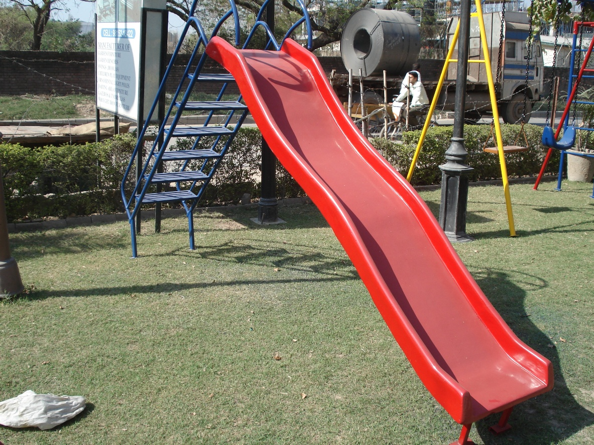 eight foot fiber slide
