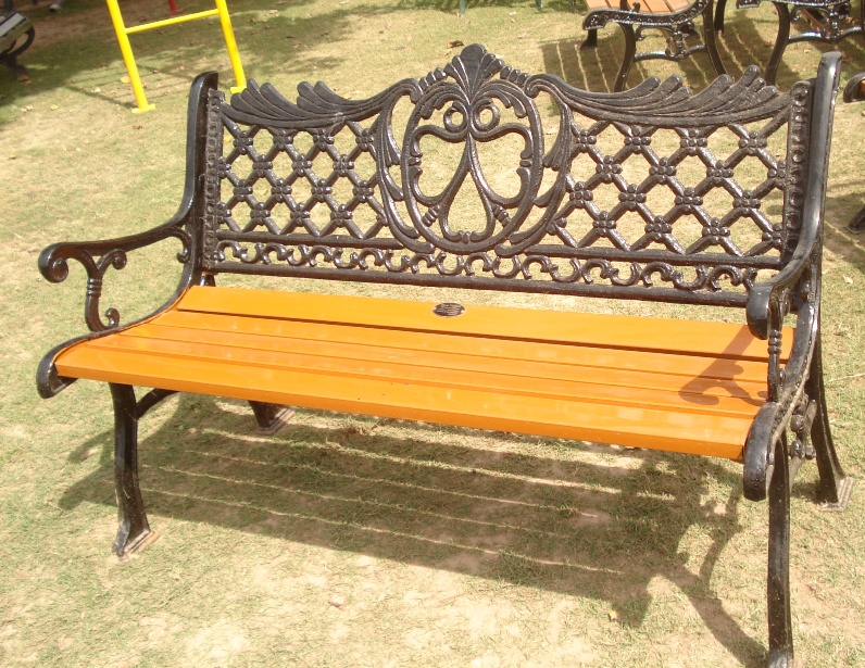 ornamental bench